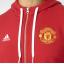 เสื้อฮู้ดอดิดาสแมนเชสเตอร์ ยูไนเต็ด คอร์ฟูลซิปฮู้ดดี้สีแดงของแท้ thumbnail 3