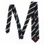 เนคไทแมนเชสเตอร์ ยูไนเต็ดของแท้ Manchester United Crest Striped Tie Navy White Polyester thumbnail 2