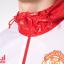 เสื้อกันลมอดิดาสแมนเชสเตอร์ ยูไนเต็ดของแท้ Manchester United 3 Stripe Windbreak Red thumbnail 3