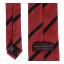เนคไทแมนเชสเตอร์ ยูไนเต็ดของแท้ Manchester United Crest Striped Tie Red-Black Polyester thumbnail 3