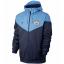 เสื้อฮู้ดแมนเชสเตอร์ ซิตี้ สีกรมท่า Manchester City Authentic Windrunner thumbnail 1