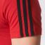 เสื้อทีเชิ้ตอดิดาสแมนเชสเตอร์ ยูไนเต็ด 3แถบสีแดงของแท้ thumbnail 4