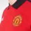 เสื้อโปโลแมนเชสเตอร์ ยูไนเต็ด Manchester United 3 Stripe Polo Red ของแท้ thumbnail 3
