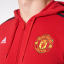 เสื้อฮู้ดอดิดาสแมนเชสเตอร์ ยูไนเต็ดของแท้ Manchester United 3 Stripe Hoodie Red thumbnail 3