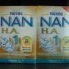 นมผง แนน NAN HA1 ขนาด 1500 กรัม (แพ็คคู่) ราคาถูกมากกว่าห้าง