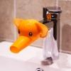 หัวต่อก๊อกน้ำล้างมือเด็กรูปสัตว์ ช่วยยื่นระยะให้เด็กใช้อ่างล้างมือโดยไม่ต้องเอื้อม