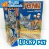 ขนมแมวเลีย โทมิ ลิควิด สแนค 15g.(แซลมอน+อินูลิน) พิเศษ 1 กล่อง 160 บาท แถม โทมิ สติ๊ก 1 แท่ง