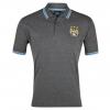 เสื้อโปโล แมนซิตี้ ของแท้ 100% Manchester City Essential Euphoria Crest Polo Top - Charcoal Marl จากสโมสรแมนซิตี้ UK สำหรับสวมใส่ เป็นของฝาก ที่ระลึก ของขวัญ แด่คนสำคัญ