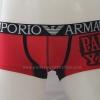 กางเกงในชาย Emporio Amani Boxer Briefs : Paul Shark สีแดง