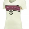 เสื้อยืดคอวีผู้หญิงแมนเชสเตอร์ ยูไนเต็ดของแท้