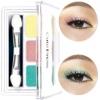*พร้อมส่ง* Color Fantasy Trio Eyeshadow อายแชโดว์ไล่สี 3 ช่อง เฉดสีแฟชั่น
