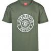 เสื้อแมนเชสเตอร์ ยูไนเต็ด Stamp Tee - B Green สำหรับเด็กชายของแท้ 100%