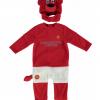 เสื้อผ้าแมนเชสเตอร์ ยูไนเต็ดของแท้ สำหรับเด็กเล็ก Manchester United Fred The Red Dress Up Suit