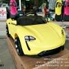 QS3206Y รถแบตเตอรี่เด็กนั่งไฟฟ้า ยี่ห้อPORSCHE สีเหลือง
