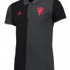 เสื้อโปโลอดิดาสแมนเชสเตอร์ ยูไนเต็ด Manchester United Polo Black ของแท้
