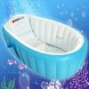 อ่างอาบน้ำเด็กเป่าลม มีที่ค้ำกันลื่น intime แถมปั๊มสูบลมฟรี