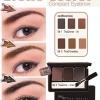 *พร้อมส่ง* Mistine Brows' Secret Compact Eyebrow มิสทีน บราวส์ ซีเคร็ท เขียนคิ้วแบบตลับ 3 ช่อง พร้อมกระจก