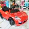 รถเก๋ง PORSCHE สีแดง