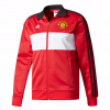 เสื้อแจ็คเก็ตอดิดาสแมนเชสเตอร์ ยูไนเต็ด 3 Stripe Track Top Red ของแท้