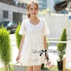 Lady Ribbon's Made Lady Lauren Sweet Classic White Lace Dress