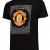 เสื้อทีเชิ้ตแมนเชสเตอร์ ยูไนเต็ด Essential Crest T-Shirt - Black ของแท้