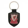 พวงกุญแจที่ระลึกลิเวอร์พูล Leather Fob Keyring ของแท้