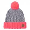 หมวกไหมพรมลิเวอร์พูลสีเทา สำหรับผู้หญิงของแท้ Ladies Colour Block Hat