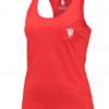 เสื้อกล้ามแมนเชสเตอร์ ยูไนเต็ดของแท้ สำหรับสุภาพสตรี Manchester United Muscle Back Vest - High Risk Red - Womens
