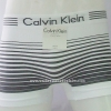 กางเกงในชาย Calvin Klein Boxer Briefs Free Size : สีขาวลายทางดำ