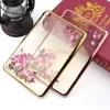 Diamond Flower Soft TPU Silicone Case Clear Cover For Apple iPad Mini 1/2/3
