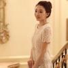 Romantic see-through Dress Korea
