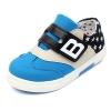 รองเท้าคัชชูผ้าเด็กเท่ห์ๆ B.boy ดาวธงอเมริกา สีฟ้าเทาดำ Size 21-32