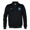 เสื้อแมนซิตี้ เสื้อแจ็คเก็ต แมนเชสเตอร์ ซิตี้ สีดำ ของแท้ 100% Manchester City Euro Away Walkout Jacket - Black 2012/13 จากอังกฤษ