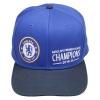 หมวกเชลซี ที่ระลึกแชมป์เปี้ยนส์ 2015 Chelsea Barclays Premier League Winners 2015 Snap Back Cap - Navy ของแท้