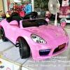 รถเก๋ง PORSCHE สีชมพู
