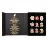 ชุดเข็มกลัด 125 ปีลิเวอร์พูลของแท้ 125 Limited Edition Badge Set