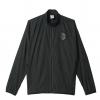 เสื้ออดิดาสแมนเชสเตอร์ ยูไนเต็ด แจ็คเก็ตโวเวินผู้ชายสีดำของแท้