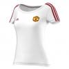 เสื้อแมนเชสเตอร์ ยูไนเต็ดของแท้ สำหรับสุภาพสตรี Manchester United Core T-Shirt - Womens White