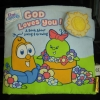 หนังสือผ้าเสริมพัฒนาการเด็ก สอนเกี่ยวกับรักการปลูกดอกไม้,ต้นไม้ SoftPlay (God loves you) ราคาถูก มือสอง