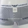 กางเกงในชาย Emporio Amani Boxer Briefs : สีขาว ลายขวาง