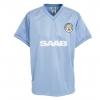 เสื้อ Retro แมนเชสเตอร์ ซิตี้ ของแท้ 100% Manchester City 1984 Shirt เป็นของฝาก ของสะสม ที่ระลึก ของขวัญแด่คนสำคัญ Size: S M L XL XXL