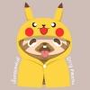 เสื้อคลุมหัวปิกาจู Pokemon