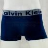 กางเกงในชาย Calvin Klein Boxer Briefs Free Size : สีน้ำเงิน ขอบ CK