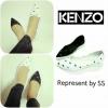KENZO มาแล้ว งานพรีเมี่ยมกล่องดำไม่ปั้มโลโก้ KENZO ขาว ดำ