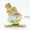 นาฬิกาพรีเมี่ยม ปั้มลายเนื้อนูน ลวดลายเอกลักษณ์ไทย รูปทรงแผนที่ประเทศไทย