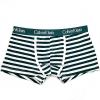 กางเกงในชาย Calvin Klein Boxer Briefs : ลายทางขาว-เขียว