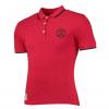 เสื้อโปโลแมนเชสเตอร์ ยูไนเต็ดของแท้ สำหรับสุภาพสตรี Manchester United Tipped Polo Shirt - Red - Womens