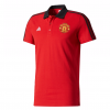 เสื้อโปโลแมนเชสเตอร์ ยูไนเต็ด Manchester United 3 Stripe Polo Red ของแท้