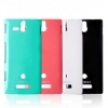 Case ROCK nakedshell Naked Color-ful series for Sony Xperia U