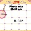 Template photo mix ขนาด 20x24 รหัส M-032